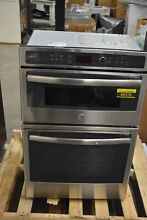 GE PK7800SKSS 27  Stainless Microwave Combo Wall Oven NOB  49376 HRT