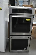 KitchenAid KODC304ESS 24  Stainless Double Electric Wall Oven NOB  49386 HRT