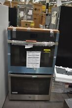 GE JTD5000SNSS 30  Stainless Double Electric Wall Oven NOB  49417 HRT