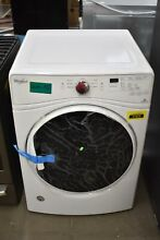 Whirlpool WED85HEFW 27  White Front Load Electric Dryer NOB  30427 HRT
