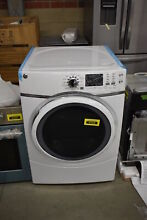 GE GFD45ESSMWW 27  White Front Load Electric Dryer 7 5 Cu Ft  NOB  41658 CLW