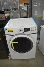 GE GFD45ESSMWW 27  White Front Load Electric Dryer NOB  33760 CLW