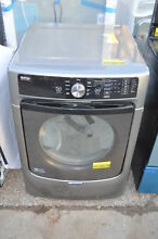 Maytag MED5500FC 27  Metallic Slate Front Load Electric Dryer NOB  20143 CLN T2