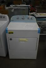 Whirlpool WGD49STBW 30  White Front Load Gas Dryer NOB  49744 HRT