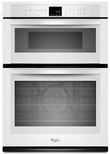 Whirlpool WOC95EC0AH 30 Inch Microwave Combination Wall Oven   WHITE