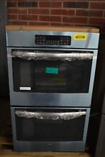 GE JT3500SFSS 30  Stainless Electric Double Wall Oven NOB  39904 HRT