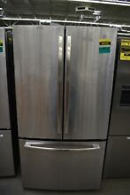 GE GNE27JSMSS 36  Stainless French Door Refrigerator  46162
