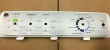 GE HYDROWAVE WASHER CONTROL PANEL W O KNOBS   BOARD PART  175D5540