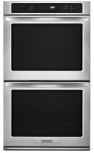 Kitchenaid KEBS209BSS 30 inch Convection Double Wall Oven
