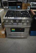 Viking VGIC53014BS 30  Stainless Professional Natural Gas Range NOB  49321 HRT
