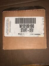 W10189190  Whirlpool   Kenmore Refrigerator compressor overload and start relay
