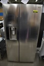LG LSXS26326S 36  Stainless Side By Side Refrigerator  50551 HRT