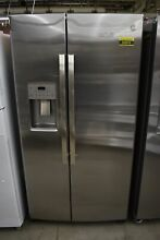 GE GSS25IYNFS 36  Stainless Side By Side Refrigerator NOB  50876 HRT