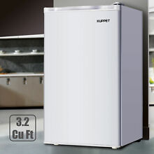 3 2 Cu ft Mini Fridge Small Refrigerator Compact Freezer Freestanding Dorm White