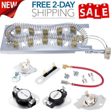 Heating Element Kit Thermostat Fuse Kenmore Whirlpool Dryer 90 Series Elite HE3
