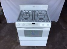 White Thermador RDF30QW  Dual Fuel 30  Convection Free Standing Range  VT 05641
