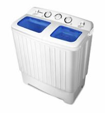 WASHER DRYER COMBO SET Portable Washing Machine with Spin Dryer 11 lb Tub