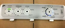 GE WASHER CONTROL PANEL W O BOARD AND KNOBS PART  175D5540