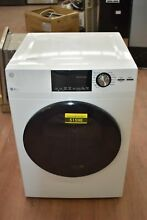 GE GFD14ESSNWW 24  White Front Load Electric Dryer NOB  51598 HRT