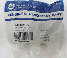 GE Appliance Genuine OEM Part WH13X10035 Washer Dryer Combo Water Valve 115V