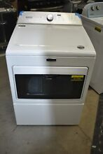 Maytag MEDB765FW 27  White 7 4 Cu Ft Front Load Electric Vented Dryer  51709