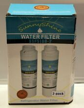 Sunny Shine GE MSWF Compatible Refrigerator Water Filter SSF5180 2 Pack  LB 28