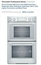 Thermador P0DS302W 02 Built In Double Electric Convection Wall Oven PROF SER