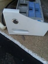 GE front load washer  Dispenser Drawer and housing hoses see pics USED
