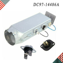 DC97 14486A Dryer Heating Element Duct Assembly Replace DC97 08891A for Samsung