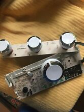GE Washer Control Board With Knobs EBX1129P004 Used Tested