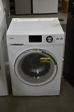 Haier HLC1700AXW 24  White Front Load Washer Dryer Combo NOB  60887 HRT