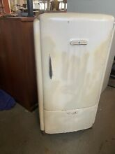 VINTAGE REFRIGERATOR by GENERAL ELECTRIC AS IS