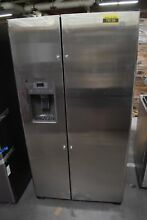 GE GZS22DSJSS 36  Stainless Side by Side Refrigerator NOB  79136 HRT