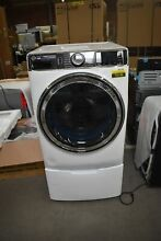 GE GFW850SSNWW 28  White Front Load Smart Washer NOB  79149 HRT
