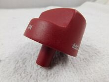 New Wolf Range RED Control HI   OFF Knob Replacement Parts OEM