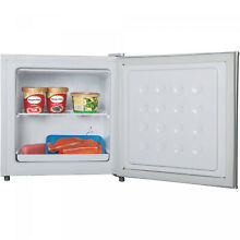 Compact Upright Mini Freezer Small 1 1 Cu Ft Energy Efficient With Shelf White