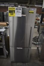 Fisher Paykel RF135BDLX4 25  Stainless Bottom Freezer Refrigerator NOB 49379 HRT