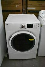 GE GFD43ESSMWW 27  White Stackable Front Load Electric Dryer  85591 HRT
