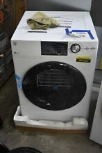 GE GFD14ESSNWW 24  White Front Load Electric Dryer NOB  85764