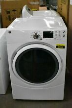 GE GFD43ESSMWW 27  White Stackable Front Load Electric Dryer  85668 HRT