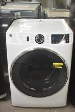 GE GFD65ESSNWW 28  White Front Load Electric Dryer NOB  86005