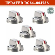 DG64 00473A Top Burner Control Dial Knob Range Oven Replacement for Samsung
