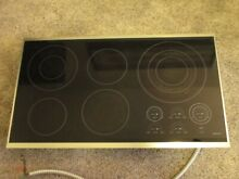 WOLF CT36E S 36  FRAMED DROP IN ELECTRIC COOKTOP 5 BURNER KITCHEN CT36 E S