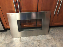BOSCH HBN655AUC outer 27 inch oven door  glass STAINLESS  00470976  470976