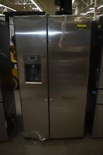 GE GSS25GSHSS 35  Stainless Steel Side By Side Refrigerator NOB  91977 HRT