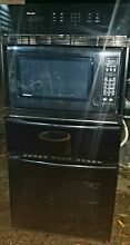 Wall oven microwave warming drawer combo