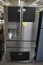 GE Profile PVD28BYNFS 36  Stainless French Door Refrigerator NOB  92059 CLW