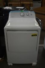 Hotpoint HTX24GASKWS 27  White Front Load Natural Gas Dryer NOB  92196 HRT