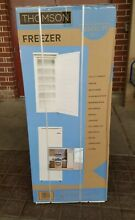 Thomson Upright Freezer   6 5 cubic ft  Brand New  GUARANTEED BEST PACKAGING