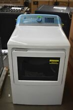 GE GTD72EBSNWS 27  White Front Load Electric Dryer NOB  92072 MAD